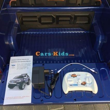 Электромобиль Ford Ranger F650 4WD (2х местный, сенсорная медиа панель, резина, кожа, пульт)