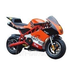 Минимото MOTAX 50 сс в стиле Ducati оранжевый (бензиновый, до 90 кг, до 45 км/ч, вариатор,  томоза дисковые мех, ручной стартер)